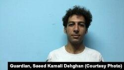امین، جوان ۲۷ ساله که از ایران فرار کرده است. عکس: سعید کمالی دهقان برای گاردین