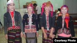 Các thành viên trong nhóm tiết kiệm ở Đăkrong