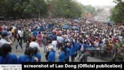 Hàng vạn người tập trung ở Đền Hùng (Phú Thọ) hôm 21/4/2021, gây lo ngại về nguy cơ lây nhiễm Covid-19.