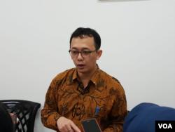 Komisioner Komnas HAM Beka Ulung Hapsara. (Foto: VOA/Sasmito)