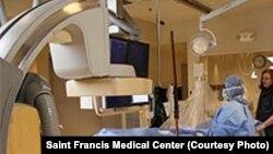 Une salle de chirurgie