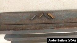 Balas usadas para atacar Posto Policial de Metuchira