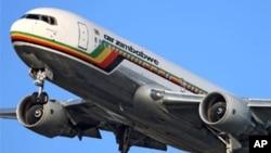 Indizamtshina zeAir Zimbabwe sezimiswe ukuphapha emazweni awe European Union.