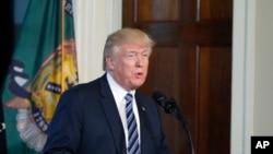 美国总统川普在财政部讲话(2017年4月21日)