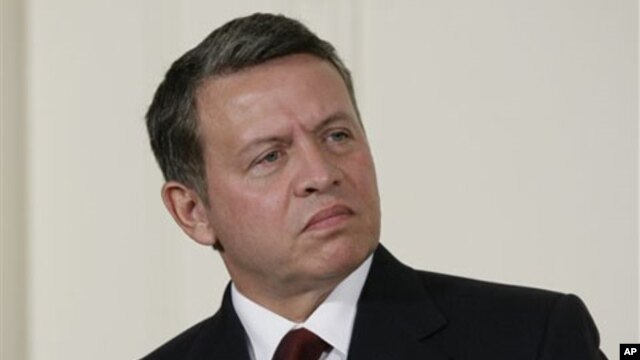 King Abdullah II of Jordan (file photo)