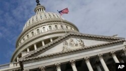 FILE - The U.S. House of Representatives passed a short-term, 5-day spending bill Friday.