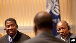 Des participants à la conférence de l'Institut de la Paix sur la démocratie en Afrique francophone