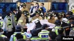 آتش در بامداد جمعه در بخش اضطراری بیمارستان سجونگ در شهر میریانگ در ۳۰۰ کیلومتری پایتخت آغاز شد.
