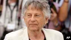 FILE - Director Roman Polanski appears at the 70th International Film Festival in Cannes, France, May 27, 2017.