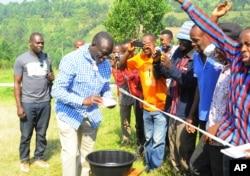 Kiongozi wa upinzani Kiiza Besigye