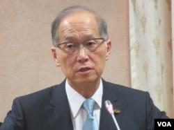 台灣外長李大維。(美國之音張永泰拍攝)