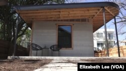 Texasda 3D çap edilmiş ev