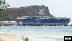 USS Carl Vinson in Guam 20180131