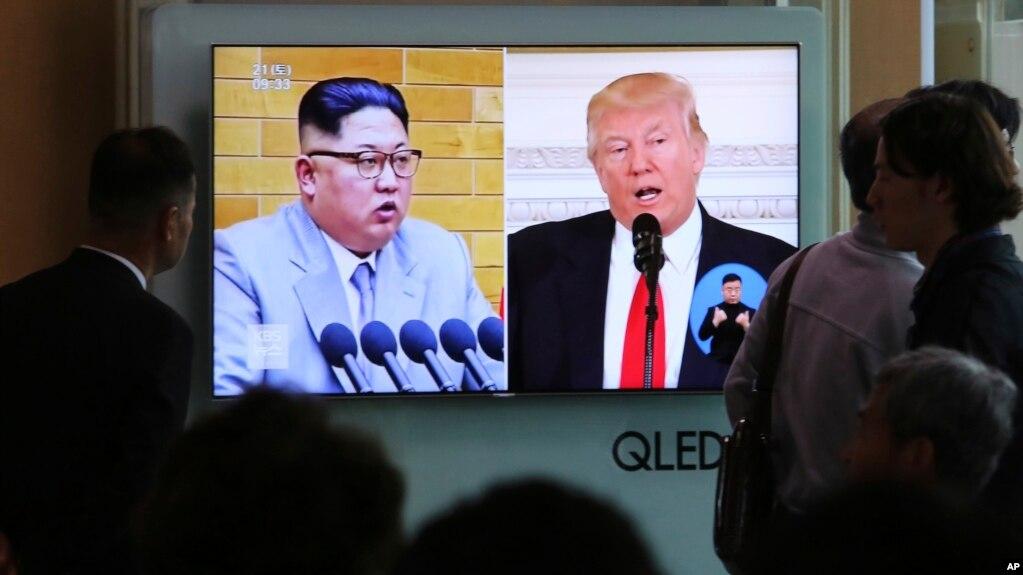 Corea de Norte suspende conversaciones con Corea del Sur debido a que EE.UU. y Corea del Sur están practicando ejercicios militares.