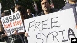 حزبە کوردیـیەکانی سوریا بانگەوازەکەى بەشار ئەلئهسەد رەتدەکەنەوە