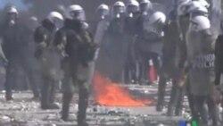 2011-10-20 粵語新聞: 希臘抗議罷工繼續 議會將表決緊縮措施