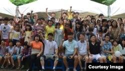 서울 서초동의 탈북 청소년 대안학교인 '두리하나 국제학교' 학생들. 사진 출처 = 두리하나 국제학교 홈페이지. (자료사진)