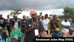 Issa Bajiru Manjo, employé du Centre pour l'environnement et le developpement, au Cameroun, le 15 septembre 2017. (VOA/Emmanuel Jules Ntap)