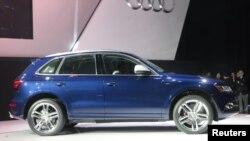 Chiếc xe thuộc dòng Audi SQ5.