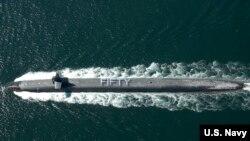 미국 핵잠수함 USS 펜실베이나 호. (자료사진)