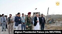 Rais wa Afghanistan Ashraf Ghani na uongozi wake.