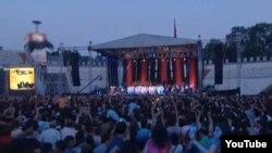 Grup Yorum'un İstanbul İnönü Stadyumun'daki Konseri