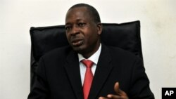 Le général Siaka Toumani Sangaré, président de la CENI