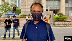 前民主派立法會議員張超雄認為,六四燭光集會有可能成為歷史,再過一兩代的香港年青人,可能與中國大陸一樣,不知道有六四事件發生過 (美國之音湯惠芸)