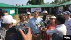 USAID အႀကီးအကဲ Mark Green ရဲ႕ ဘဂၤလားေဒရွ္႕ႏုိင္ငံ ေကာဇ္ဘဇားက ကုတုပေလာင္ ရိုဟင္ဂ်ာ ဒုကၡသည္ စခန္းေတြ ခရီးစဥ္ ( ေမ-၂၀၁၈)