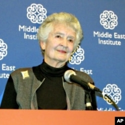 Dr. Andrea Rugh, author of 'Simple Gestures: A Cultural Journey into the Middle East.'