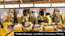 L'épidémie, qui frappe actuellement la RDC et qui dure depuis août 2018, est la plus grave de l'histoire de la maladie depuis celle ayant touché l'Afrique de l'Ouest entre fin 2013 et 2016.(Photo-Twitter/Banque mondiale)