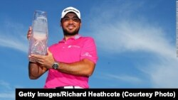 L'Australien Jason Day, N.1 mondial du golf