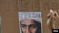 Para muchas personas con la muerte de bin Laden la amenaza terrorista llegó a su fín, mientras que otros especialistas aseguran que es sólo la continuación de la guerra.