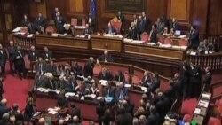 2011-11-18 粵語新聞: 意大利新總理面對參院第二次信任投票