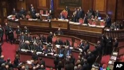 意大利下議院批准了新政府的人選。