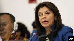 La presidenta de Laura Chinchilla y el vicepresidente Luis Liberman toman medidas para frenar el ingreso de estos capitales.