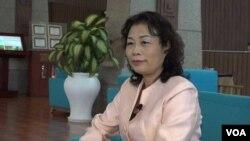 Bà Phạm Thị Thu Hằng, Tổng thư ký Phòng Thương mại và Công nghiệp Việt Nam.