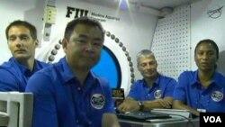 Astronauti NASA-e, ESA-e i JAXA-e u podvodnoj laboratoriji Aquarius