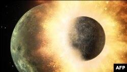 Yer Kürəsi ətrafında bir vaxtlar iki Ay dövrə vururdu (audio)