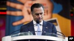 Митт Ромни. Хьюстон, штат Техас. 11 июля 2012 г.