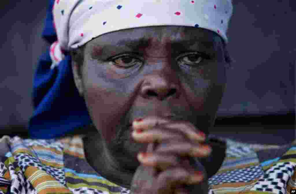 **ADVANCE FOR SUNDAY, MARCH 15** Zamuda Sikujuwa, 53, seen at her temporary home in Goma, Congo, on Friday, Feb. 20, 2009, was raped in 2003 by soldiers who killed her husband and two children. Rape has been used as a brutal weapon of war in Congo, where