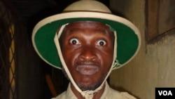 La compagnie théâtrale les Perroquets de Bangui représentant la Centrafrique au concours