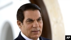 Ousted Tunisian President Zine El Abidine Ben Ali (file photo)