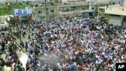 واکنش مرگبار حکومت سوریه در برابر تظاهرات امروزی