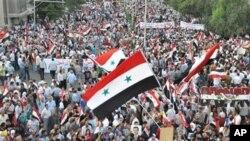 Βίαιες διαδηλώσεις στη Δαμασκό