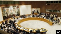 The UN Security Council in New York (file photo).