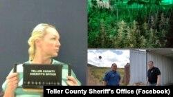 Фотографії зі сторінки офісу шерифа округу Теллер у Facebook
