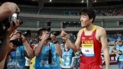 قهرمانی ژاینگ در ۱۱۰ متر و مرگ قهرمان ماراتن