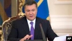 ယူကရိန္းသမၼတ Viktor Yanukovych