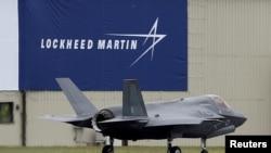 Máy bay F-35B của hãng Lockheed Martin.
